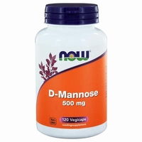 NOW D-Mannose 500mg 120caps