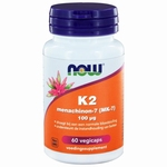 NOW Vitamine K-2 menachinon 100mcg 60vcaps