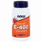 NOW Vitamine E 400IU D alpha tocopheryl 100sft