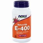 NOW Vitamine E 400IU mixed tocopheryl 100sft