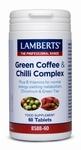 Lamberts Groene koffie & chili complex 60tab