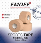 Emdee sporttape breed 3,8cmx10m beige 1rol