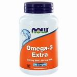 NOW Omega 3 extra 90softgel