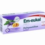 Em-eukal PRO Keelpastilles salie suikervrij 30zuigpast