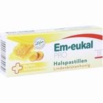 Em-eukal PRO Keelpastilles met lindebloesemhoning 30zuigpast