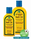 Grahams Bath Oil 120ml 