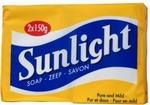 Sunlight huishoudzeep 2x150g