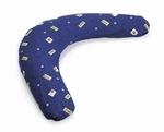 Sissel 170009 Comfort kussenovertrek graffitiblauw