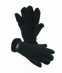 Naproz thermo handschoenen zwart small/medium