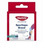 Heltiq Sporttape breed 3,75cmx10m wit 2rollen