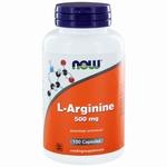 NOW L-Arginine 500mg 100gcaps