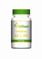 Elvitaal vitamine K2 + D3 90vcaps