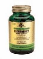 Solgar 4125 Elderberry Berry Extract (Vlierbes) 60vcaps