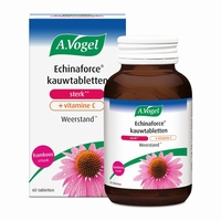 Vogel Echinaforce & vitamine C framboos forte 60kauwtab