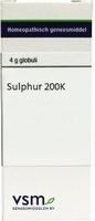 VSM Sulphur 200K globuli 4g