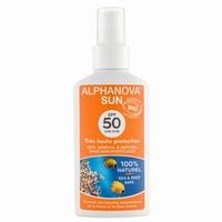 Alphanova Sun spray SPF50 bio 125ml