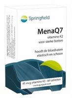 Springfield MenaQ7 vitamine K2 45mcg 60tabl