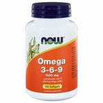 NOW Omega 3-6-9- 1000mg 100sft