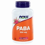 NOW PABA 500mg 100cap