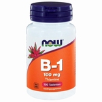 NOW Vitamine   B1 100mg 100tab