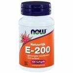 NOW Vitamine E 200IU natuurlijke gemengde tocoferolen 100sft