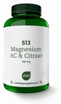 AOV  513 Magnesium AC & Citraat 150 mg 180tab