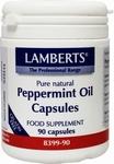 Lamberts Pepermuntolie 100mg 90caps