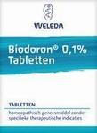 Weleda Biodoron 0.1% tabletten 250tb