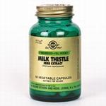 Solgar 4140 Milk Thistle Herb Extract (Mariadistel) 60vcaps