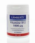 Lamberts Vitamine  B12 1000 mcg  60tab