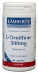 Lamberts L-Ornithine 500 mg 60vc