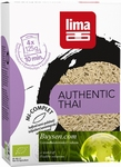 Lima Authentic Thai rijst halfvol BIO 4 kookbuiltjes x 125g