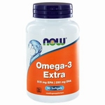 NOW Omega 3 extra 90softgel