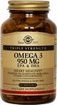 Solgar 2058 Omega-3 Triple Strength 100caps