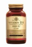 Solgar 54956 Vitamine D3 25 µg/1000 IU 100kauwtabl