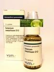 VSM Selenium metallicum D12 globuli 10g