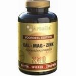 Artelle Cal/mag/zink 250tab
