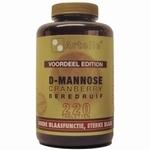 Artelle D-Mannose cranberry beredruif 220tab