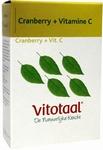 Vitotaal Cranberry + C 45caps
