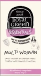 Royal Green Multi woman  60tab