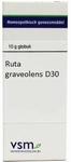 VSM Ruta graveolens D30 globuli 10g