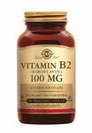 Solgar 3050 Vitamine B2 (Riboflavine) 100 mg 100caps