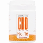 Cannamedic No.16 CBD 2% Hennepolie 6mg 50caps