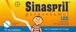 Sinaspril paracetamol 120mg 16kauwtabl