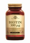 Solgar 0280 Biotin Vitamine B4 (B8) 300 µg 100tabl