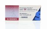 Sandoz Cinnarizine 25mg bij reisziekte 30tabl