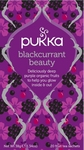 Pukka Blackcurrant beauty BIO 20 theezakjes