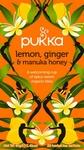 Pukka Lemon, Ginger & Manuka honeyBIO 20 theezakjes