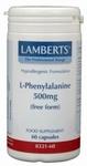 Lamberts L-Phenylalanine 500 mg 60caps