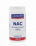 Lamberts N Acetyl cysteine  60caps